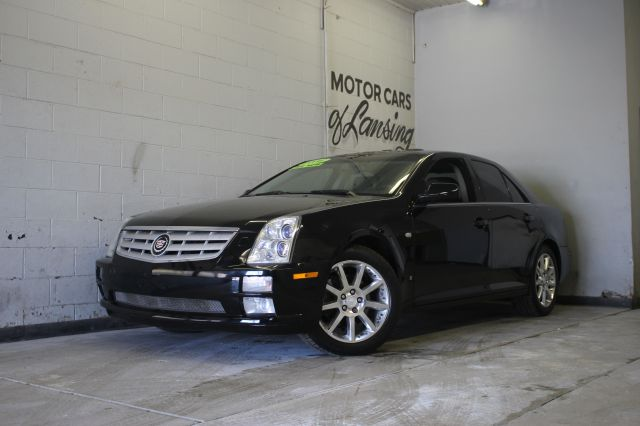 2006 CADILLAC STS V8 AWD 4DR SEDAN black awd moonroof 3 month 4000 mile limited powertrain warr