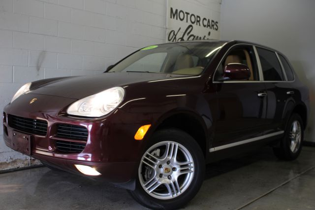 2006 PORSCHE CAYENNE TIPTRONIC AWD 4DR SUV maroon loaded heated leather sunroof must see super