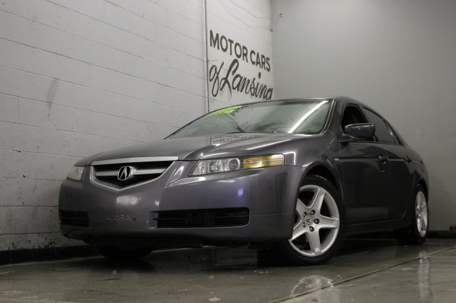 2004 ACURA TL 32 4DR SEDAN gray abs - 4-wheel anti-theft system - alarm cd changer center cons