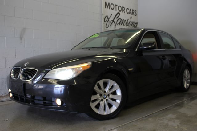 2005 BMW 5 SERIES 545I 4DR SEDAN black leather sunroof must see  currently at our kalamazoo loc