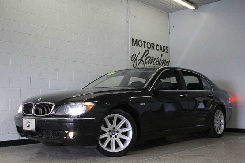 2008 BMW 7 SERIES 750LI 4DR SEDAN black 48l v8 bluetooth connection cooled front seats engi