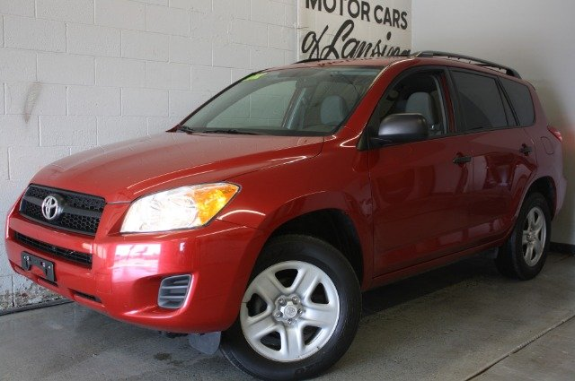2012 TOYOTA RAV4 BASE I4 4WD red like new must see 4x4 test drive today  3 month 4000 mile