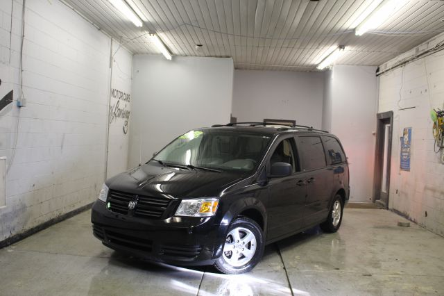 2009 DODGE GRAND CARAVAN SE MINI VAN PASSENGER 4DR RWD black super clean must see currently at o