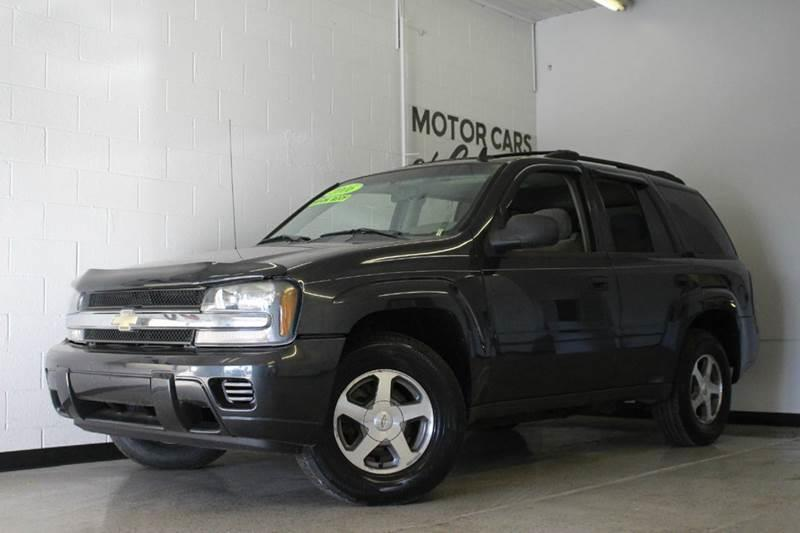 2006 CHEVROLET TRAILBLAZER LS 4DR SUV 4WD gray 42l i6 cloth sunroof 4wd type - on demand abs