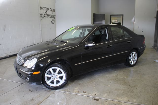 2007 MERCEDES-BENZ C-CLASS C280 LUXURY 4MATIC AWD 4DR SEDAN black leather loaded everyone is appr