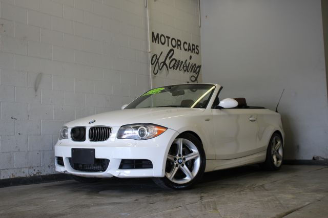 2009 BMW 1 SERIES 135I 2DR CONVERTIBLE white premium color combo must see 3 month 4000 mile