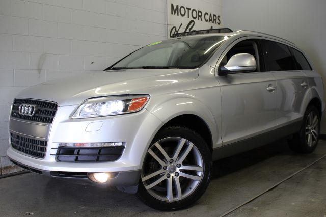 2007 AUDI Q7 42 QUATTRO AWD 4DR SUV silver loaded wow must see all wheel drive leather  3