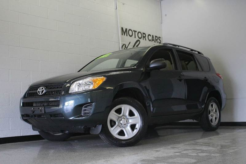 2012 TOYOTA RAV4 BASE 4X4 4DR SUV blue 4 cylinder 4x4 1 owner off lease 4wd type - on demand a