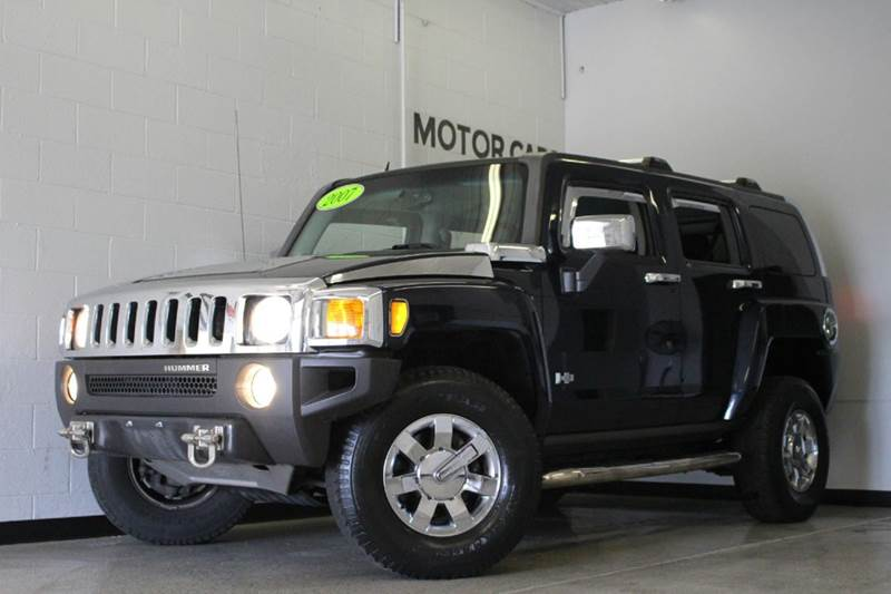 2007 HUMMER H3 BASE 4DR SUV 4WD blue 37l i5 4wd 2-stage unlocking - remote 4wd type - full ti