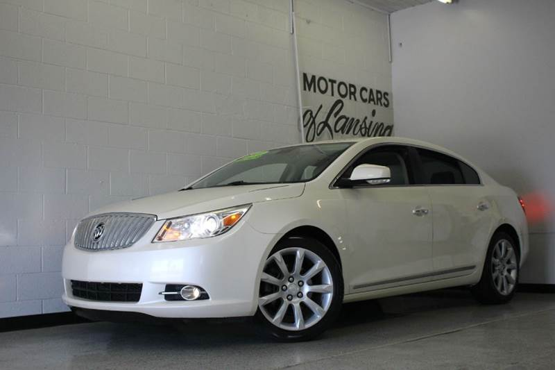 2010 BUICK LACROSSE CXS 4DR SEDAN white panoramic roof  2-stage unlocking - remote abs - 4-wheel