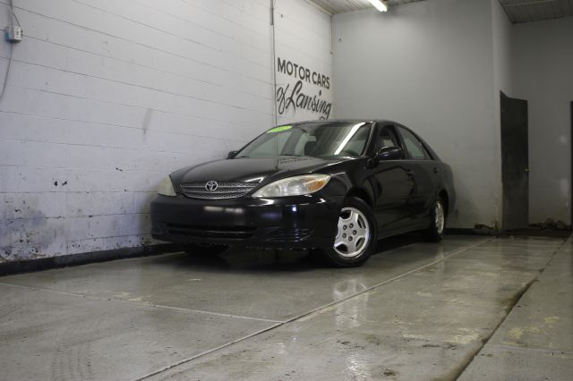 2002 TOYOTA CAMRY LE V6 4DR SEDAN black call or e-mail for a free carfax super clean must see
