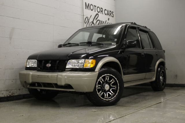 1999 KIA SPORTAGE EX 4DR 4WD SUV black everyone is approved