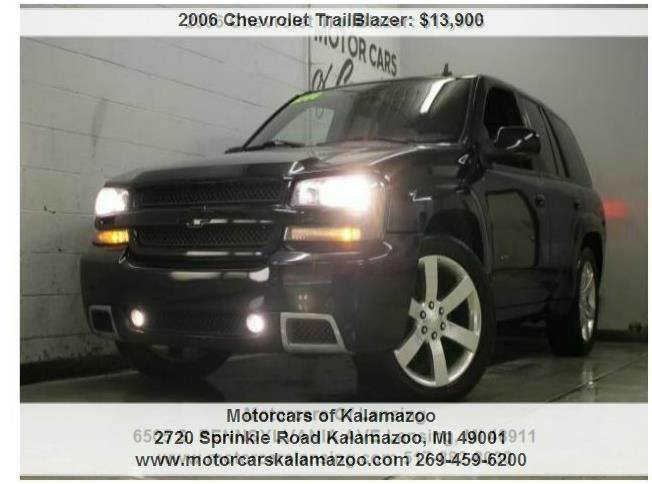 2006 CHEVROLET TRAILBLAZER SS 4X4 black call or e-mail for a free carfax fun to drive must se