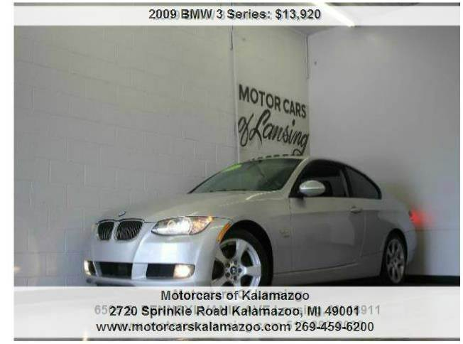 2009 BMW 3 SERIES 328XI AWD 2DR COUPE titanium silver metallic 30l 6-cylinder dohc and awd all