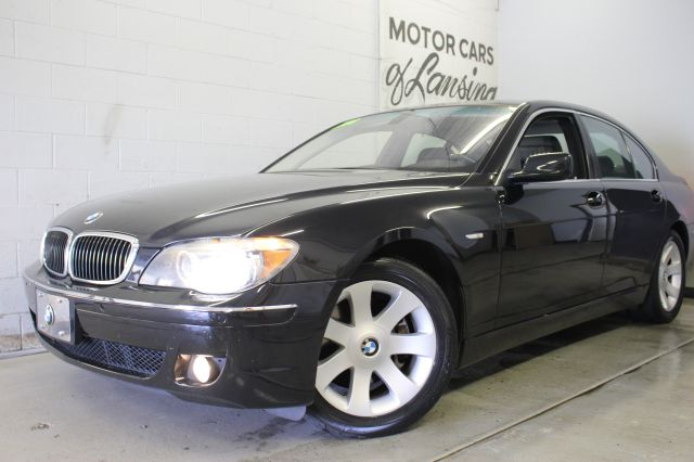 2006 BMW 7 SERIES 750I 4DR SEDAN black heated cooled seats leather wow loaded sunroof black