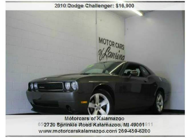 2010 DODGE CHALLENGER SE 2DR COUPE mineral gray metallic clearcoa 35l v6 mpi 24v high-output and