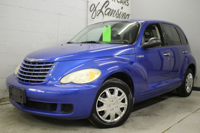 2006 CHRYSLER PT CRUISER TOURING 4DR WAGON blue clean chrome wheels great tires must see   3