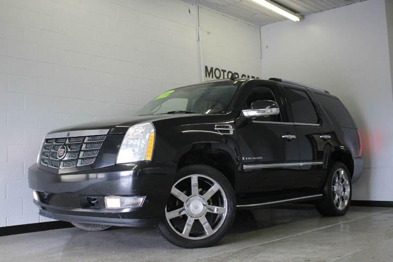 2007 CADILLAC ESCALADE BASE AWD 4DR SUV black 62l v8 awd black on black sunroof navigation h