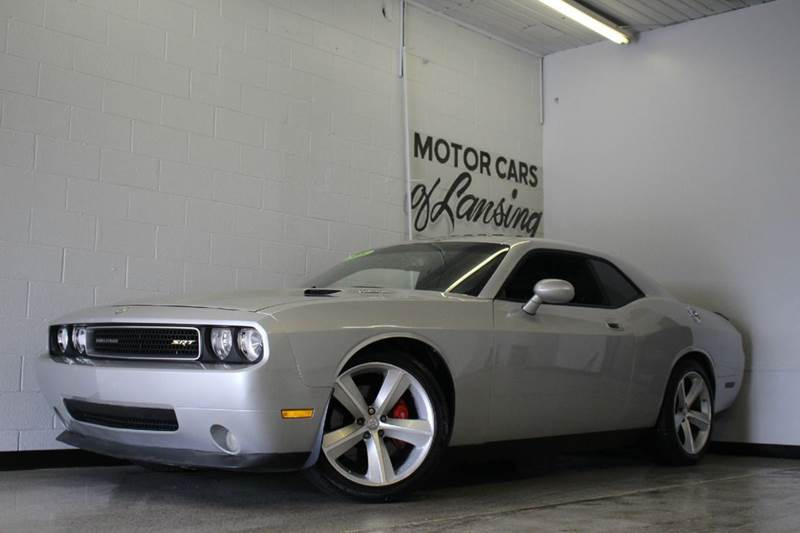 2008 DODGE CHALLENGER SRT8 2DR COUPE silver 61l v8 sport sunroof rwd heated leather seats a
