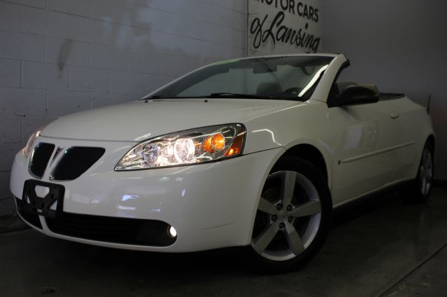 2006 PONTIAC G6 GTP 2DR CONVERTIBLE white hard top convertible gtp package wow must see fun to