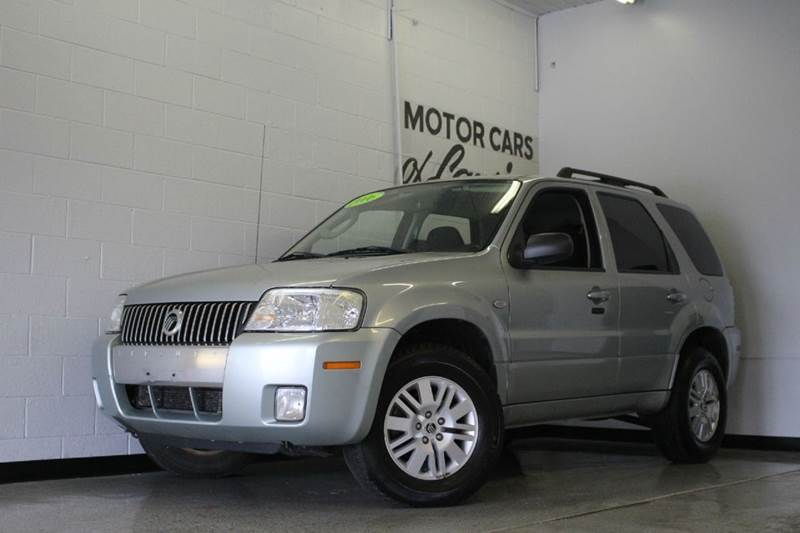 2006 MERCURY MARINER LUXURY AWD 4DR SUV silver duratec 30l v6 and 4wd passenger accommodations