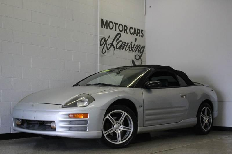 2002 MITSUBISHI ECLIPSE SPYDER GT 2DR CONVERTIBLE gray 30l v6 cloth convertible anti-theft sy