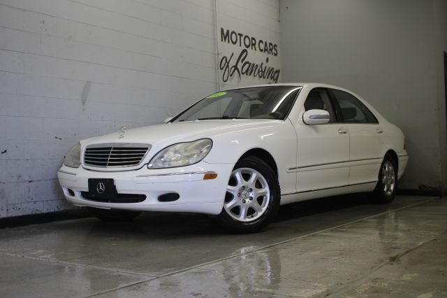 2001 MERCEDES-BENZ S-CLASS S500 4DR SEDAN white excellent condition all maintenance completed rea