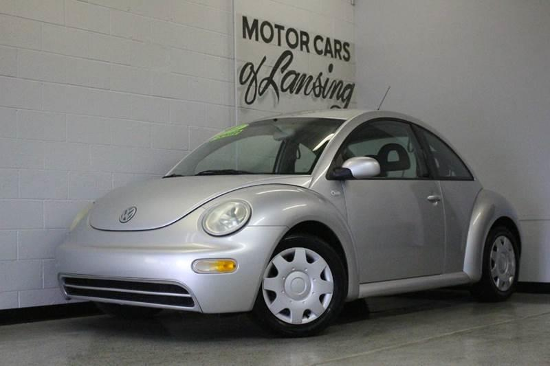 2001 VOLKSWAGEN NEW BEETLE GL 2DR HATCHBACK silver 20l i4 cloth clean abs - 4-wheel anti-theft