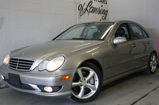 2005 MERCEDES-BENZ C-CLASS C230 KOMPRESSOR silver leather sunroof loaded must see   3 month