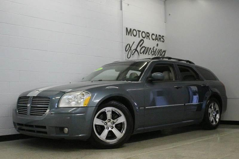 2006 DODGE MAGNUM RT 4DR WAGON gray 57l v8 leatherloaded racing stripe rt moonroof abs - 4