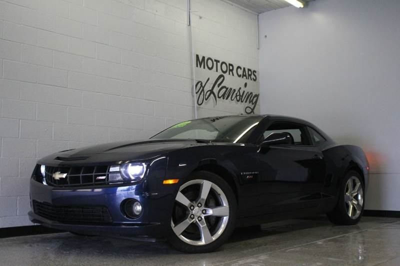 2010 CHEVROLET CAMARO SS 2DR COUPE W1SS midnight blue leatherloaded abs - 4-wheel air filtrat