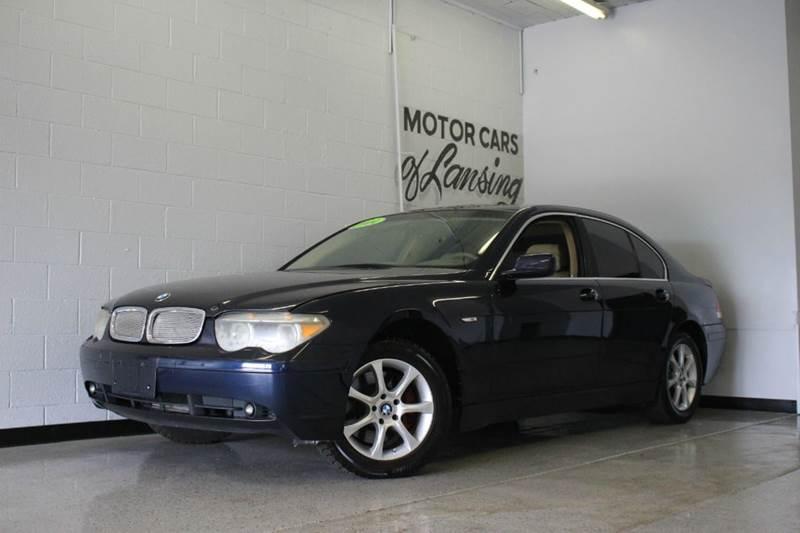 2004 BMW 7 SERIES 745I 4DR SEDAN blue 44l v8 dohc 32v valvetronic rwd and leather navigation