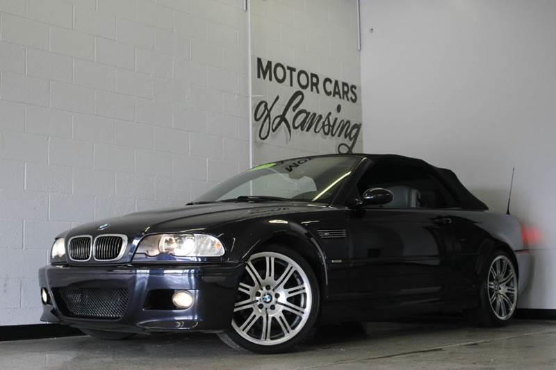 2003 BMW M3 BASE 2DR CONVERTIBLE black 32l v6 fwd leather abs - 4-wheel anti-theft system - a