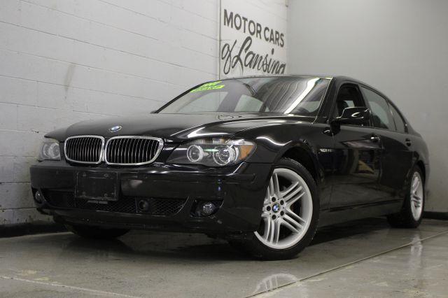 2007 BMW 7 SERIES 760LI 4DR SEDAN black 2-stage unlocking - remote abs - 4-wheel active suspensi