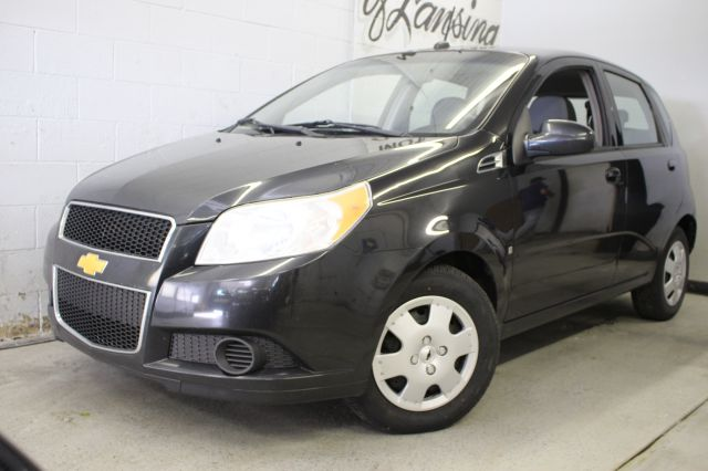 2009 CHEVROLET AVEO AVEO5 LS 4DR HATCHBACK black 5-speed manual transmission great on gas wont l