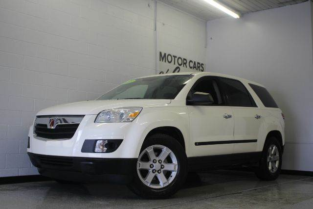 2009 SATURN OUTLOOK XE AWD 4DR SUV cream white 36l v6 sidi vvt and awd all the right ingredient