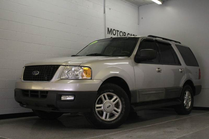 2005 FORD EXPEDITION XLT 4WD 4DR SUV silver third row  abs - 4-wheel anti-theft system - alarm