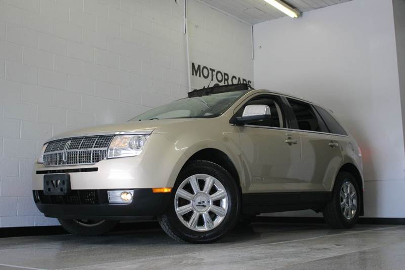 2007 LINCOLN MKX BASE AWD 4DR SUV gold 35l v6  awd heatedcooled leather seats moon roof lik