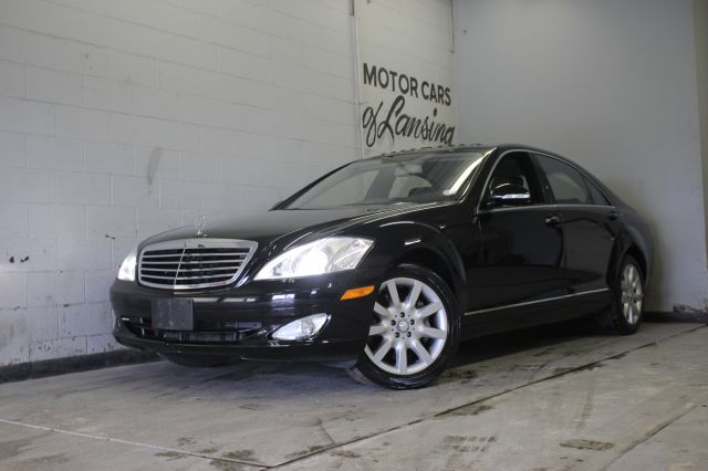 2007 MERCEDES-BENZ S-CLASS S550 4MATIC AWD 4DR SEDAN black 4 matic black on black 3 month 400