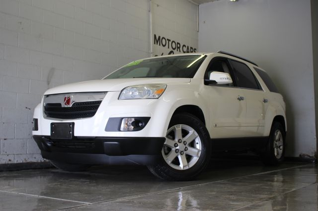 2009 SATURN OUTLOOK XR AWD 4DR SUV white must seeleatherloaded 3rd row seatingawd 3 month