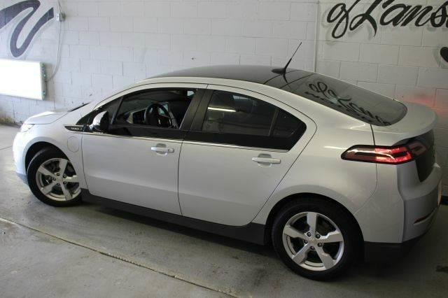 2011 CHEVROLET VOLT BASE 4DR HATCHBACK silver ice metallic 110 point inspection and free 3 month