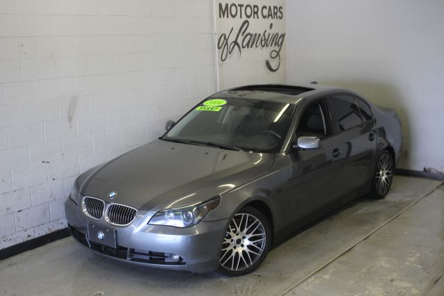 2004 BMW 5 SERIES 545I 4DR SEDAN dark gray leather loaded like new must see call or e-
