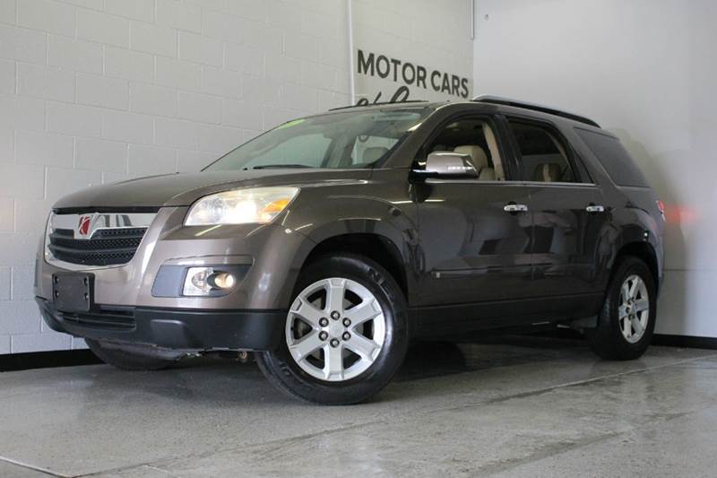 2007 SATURN OUTLOOK XR 4DR SUV brown leather moonroof awd remote start power liftgate  2-sta
