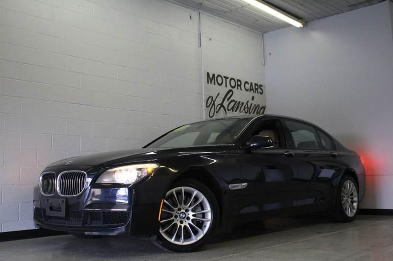 2012 BMW 7 SERIES XDRIVE AWD 4DR SEDAN black everyone is approved carfax advantage dealerclean