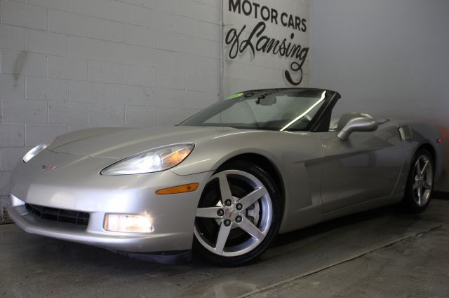 2006 CHEVROLET CORVETTE BASE 2DR CONVERTIBLE silver fun to drive stick shift extra clean new ti