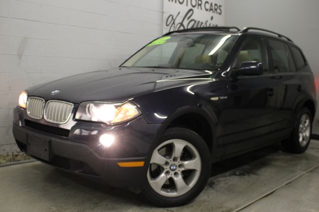 2007 BMW X3 30SI AWD 4DR SUV blue like new inside and out wow must see awd all customers are w