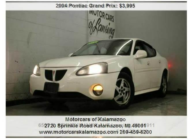 2004 PONTIAC GRAND PRIX GT1 4DR SEDAN white everyone is approved