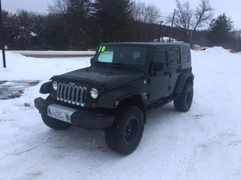 2010 Jeep Wrangler Unlimited for sale in Erie, PA