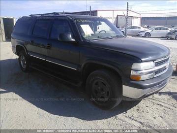 2002 Chevrolet Suburban for sale in Jacksonville, FL