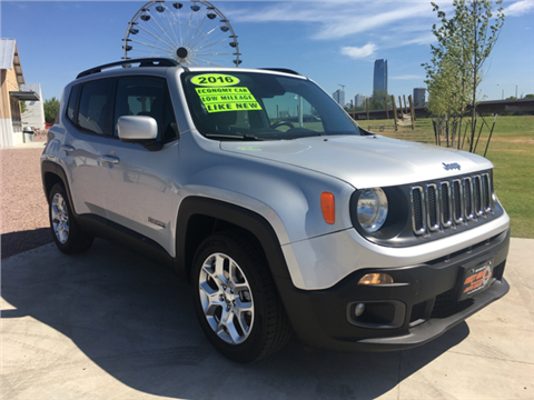 used 2016 jeep renegade for sale in oklahoma. Black Bedroom Furniture Sets. Home Design Ideas